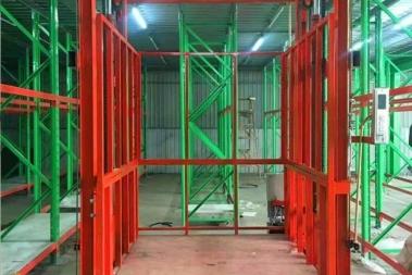导轨式升降机货梯